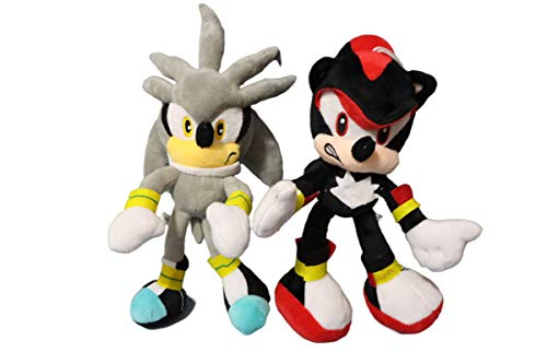 Juguetes de muñeca 2 unids/lote Sonic the suave Animal de Peluche de peluche de