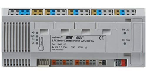Somfy Jalousieaktor KNX/EIB 4 AC 1860116 Motor Controller Bussystem-Jalousieaktor 3660849510145
