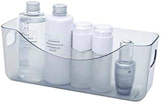 Stable Panier de rangement en plastique Panier de rangement snack Boîte de rangement de bureau Salle de bain Rangement Cui...