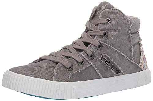 Blowfish Women's Fruitcake Sneaker, Wolf Grey, 10 Medium US