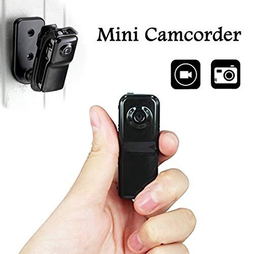 ZCFXGHH 2 milione Macchine fotografiche Mini Video DV del Casco Segreto Videocamera Audio Recorder DVR per l'automobile di Azione di Sport Bike Micro Cam con i Supporti