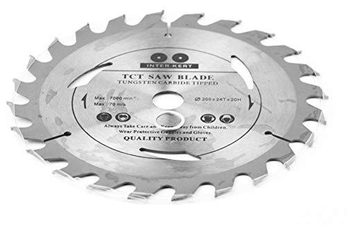 205x 20mm (30mm; 25,4mm; 22,23mm; 20mm) 24 Zähne Sägeblatt Top Qualität Kreissägeblatt für Holz