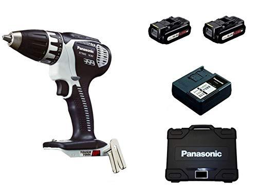 Panasonic EY 7443 LS2S - Taladro (Taladro de pistola, perforacion, Desatornillar, Negro, Gris, 3,5 cm, 1,3 cm, 28 Nm)
