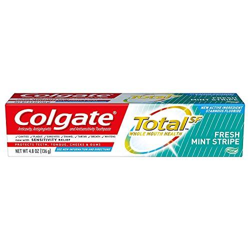 Colgate Total Toothpaste Stripe Gel, Mint, 4.8 Ounce