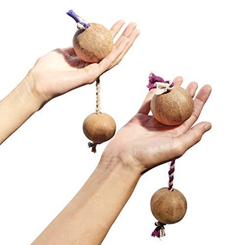 【2個セット】バティカ(アサラト/ブラニ/パチカ)天然手作り 便利な携帯用フック付き
