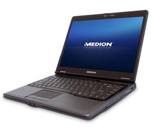 Medion AKOYA P4610 MD 96688 35,8 cm (14,1 Zoll) WXGA Laptop (Intel Core 2 Duo T8300 2,4 GHz, 3GB RAM, 320GB HDD, ATI Mobility Radeon HD 2400 XT, DVD+- DL RW, Vista Home Premium)