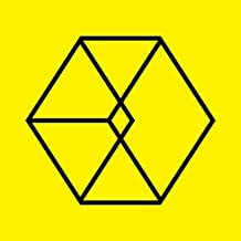 EXO Vol. 2 Repackage - Love Me Right (Korean Version) CD + Official folded poster + Extra Photocard sets[ Exo postcard+Sticker+2 extra photocard ]