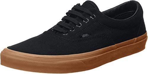 Vans Unisex Era Black Classic Gum Skate Shoe 4 Men US 5 5 Women US product image
