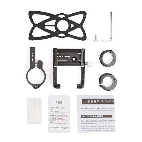 QiKun-Home Gub P10 aleación de aluminio bicicleta teléfono móvil soporte de navegación...