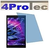 4ProTec 2X Crystal Clear klar Schutzfolie für Medion LIFETAB X10302 X10301 Premium Bildschirmschutzfolie Displayschutzfolie Schutzhülle Bildschirmschutz Bildschirmfolie Folie