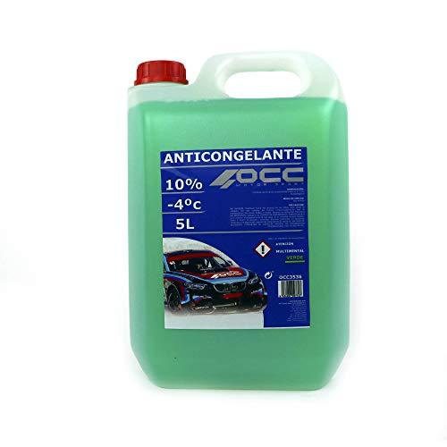 Occ Motorsport OCC3536 Anticongelante 5 l 10% Verde