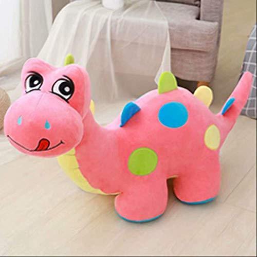 hokkk Rosa/Verde/Blu Simpatico Peluche di Dinosauro farcito Bambola Divano Dinosauro Peluche Animali per Bambini Giocattolo Dino Compleanno Plushie Lunghezza Regalo 50 cm Rosa