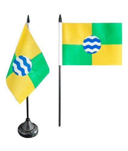 Flaggenfritze® Tischflagge Kenia Nairobi - 10 x 15 cm