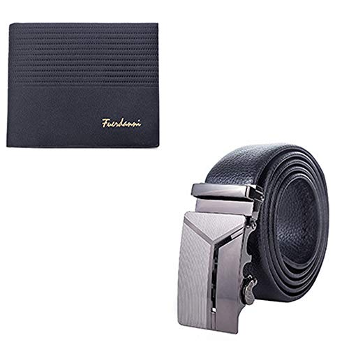 Juego de cinturón de cartera de regalo, regalo corporativo de dos piezas de cuero para hombre con caja de regalo, de gama alta, de moda y negocios como regalos