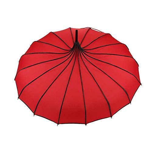 yangGradel Vintage Pagode Regenschirm Brautschmuck Hochzeit Party Sonne Regen UV Schutz Regenschirm