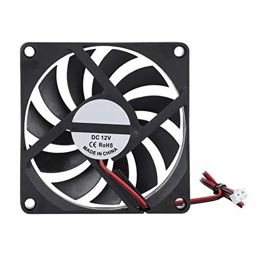 Ventilador axial 8010 80 x 10 mm, 12 V o 24 V