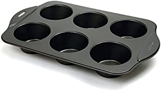 Norpro Giant Muffin Pan Non Stick, Black