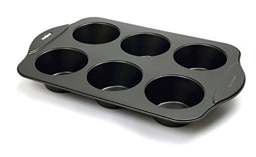 Norpro Giant-Plaque à Muffins-Anti-adhésif-Noir