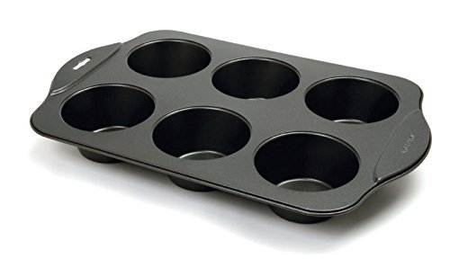 Norpro Nonstick 6 Cup Giant Muffin Pan, As Shown