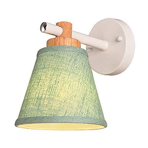 Moderne wandlamp met stoffen kap voor LED ijzer-Art lampenkap, wandlamp, restaurant, café, wijn, supermarkt, decoratie, wandlamp