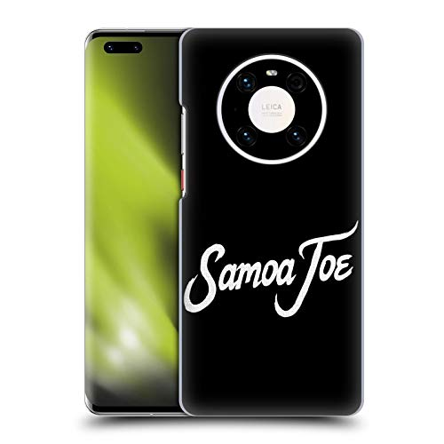 Head Case Designs Officially Licensed WWE Logo Samoa Joe Hard Back Case Compatible with Huawei Mate 40 Pro