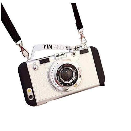Neue Emily in Paris Handyhülle Vintage Kamera, Für iPhone 11/12 PRO MAX (Weiß, Für iPhone 7Plus/8Plus)