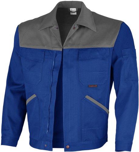 Qualitex Image Bund-Jacke Arbeits-Jacke MG 300 - kornblau/grau - Größe: 42