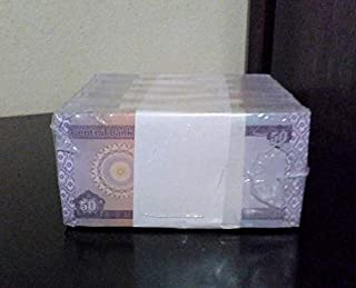 Nice1159 25 X 50 Iraqi Dinar Banknotes New UNC. from Bundle - Authentic Rare for Collectors (Only 1 Set Left)