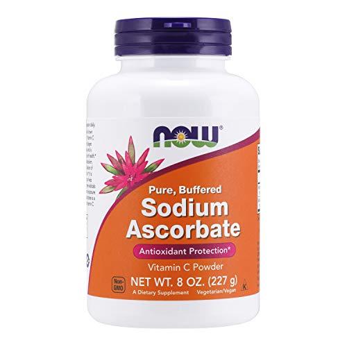 Now Foods Sodium Ascorbate Natriumascorbat Pulver Antioxidant 227g