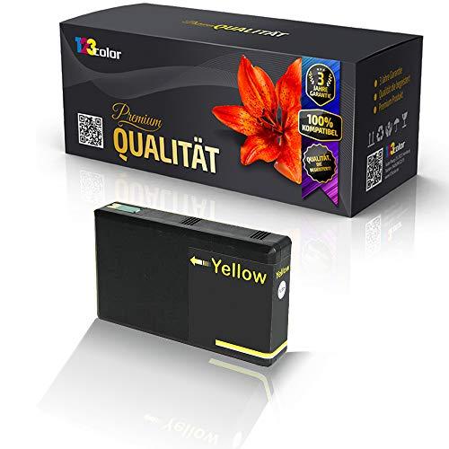 Alternative Tintenpatrone für Epson Workforce Pro WF 4600 Series WF 4630 DWF WF 4630 DWF WF 4640DTWF WF 4640 DTWF T7904 Yellow Gelb Eco Pro Serie