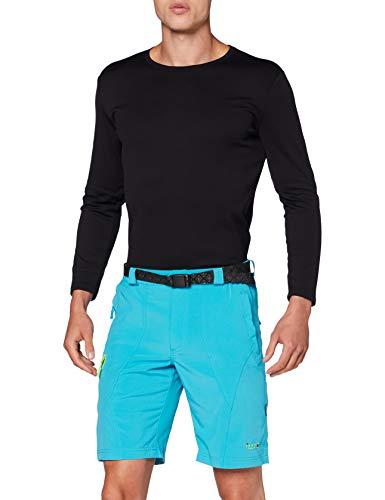 Izas Himalaya Short élastique Homme, Turquoise/Vert Clair, FR : M (Taille Fabricant : M)