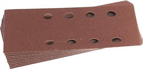 Draper 42620 90 mm x 187 mm, Korn 120, Aluminiumoxid, 10 Stück Schleifblätter
