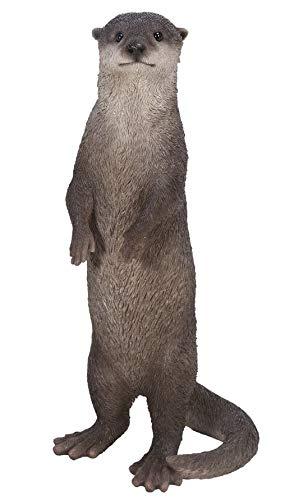 Vivid Arts Real Life Otter Stehender Otter – Größe B
