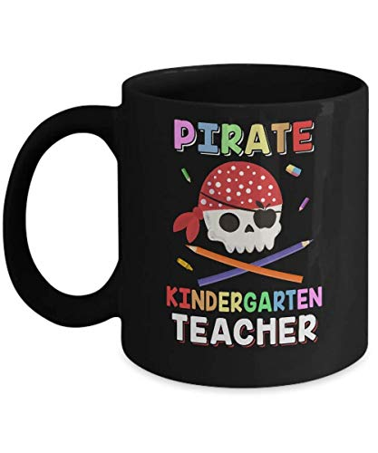 N\A Disfraz DE Maestro DE Kindergarten Pirata Taza DE Halloween