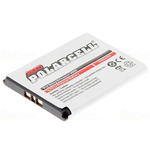 cellePhone PolarCell Akku Li-Polymer für Sony-Ericsson K800i K530i K550i K630i K660i K810i M600i P990i W850i W880i (ersetzt BST-33 / BST-40)