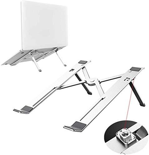 THBEIBEI Laptop Stand De Aleación De Aluminio Aumento De Escritorio Plegable del Disipador De Calor Y El Levantamiento De Soporte Portátil