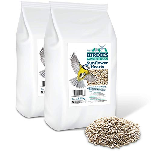 Birdies Sunflower Hearts- Bird Seed for...