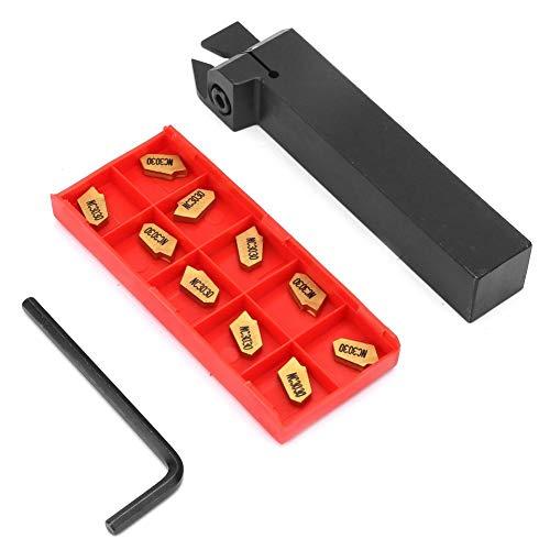 Portautensili per tornio ZQ2020R-3, portautensili per tornitura in acciaio legato con chiave per inserti in metallo duro SP300