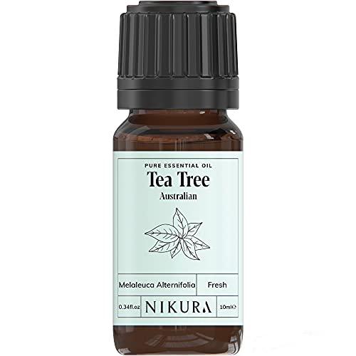 Nikura   Tea Tree (Australian) Essential Oil - 10ml - 100% Pure