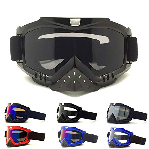 KD Gafas De Nieve Unisex A Prueba De Viento 100% Protección UV, Ciclismo Motocicleta Moto De Nieve Gafas De Esquí, Gafas De Esquí para Deportes Al Aire Libre