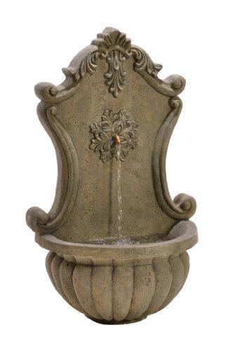 Birdrock Home Stonecast Wall Fountain