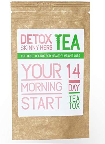 14 Morning Start Tea : Detox Skinny Herb Tea - Boost Metabolism/Regulate Metabolism/Blood Pressure / 100% Natural