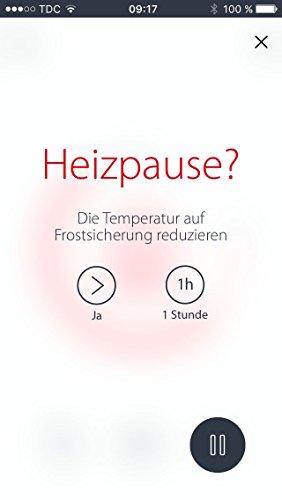 Danfoss Link Starterkit enthält 1 Zentralregler und 3 Connect Thermostate, Farbe weiß, 4 Stück, white, 014G0500 - 7