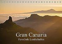 Gran Canaria - Fesselnde Landschaften (Tischkalender 2022 DIN A5 quer): Einzigartige Gebirgs- und Kuestenlandschaften der drittgroessten Kanarischen Insel (Monatskalender, 14 Seiten )