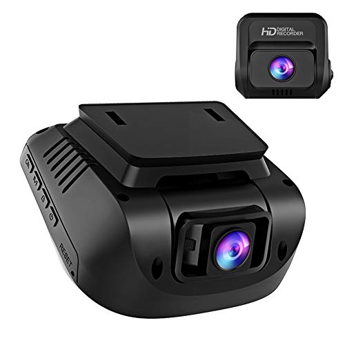 Both 1080P FHD Front and Rear Dual Lens Dash Cam in Car Camera...