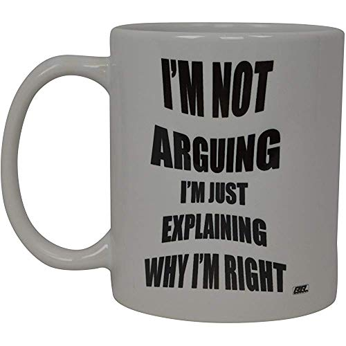 Beste koffie-haver Ik ben niet triten ik ben echt nieuw Cup Joke Great Gag cadeau-idee (streiten)