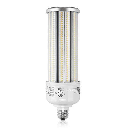 LED Corn Bulbs, 54W Cob Light 250W MH/HPS/HID Replacement 5000K 7,900LM Large Mogul E39 Base Super Bright Street Area Barn Lighting for Warehouse Backyard Barn Shop Garage Acorn Garden Patio UL DLC