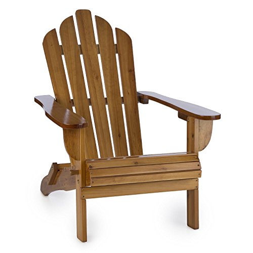 blumfeldt Vermont Garden Chair Adirondack Style Fir Wood (73x88x94cm,...