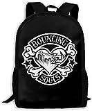 TTmom Mochilas Tipo Casual,Bolsa de Viaje The Bouncing Souls Unisex Backpack Shoulder Bag School Backpack Travel Bags Laptop Backpack