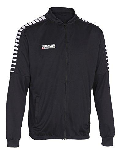 Derbystar Kinder Hyper Poly-Arbeitsjacke Jacke, schwarz Weiss, 164